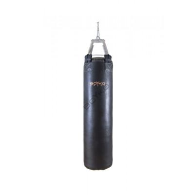 Боксерский мешок Бойко-Спорт из ременной кожи 35 x 90 см, 25-35 кг