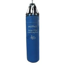 Боксерский водоналивной мешок Бойко-Спорт кожа 35 x 130 см