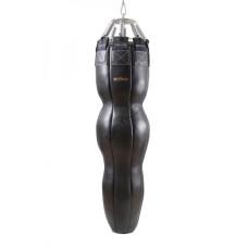 Боксерский мешок Бойко-Спорт (силуэт) №2 из ременной кожи 40 x 145 см, 55-65 кг