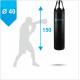 Боксерский мешок Бойко-Спорт ПВХ 40 x 150 см, 45-55 кг