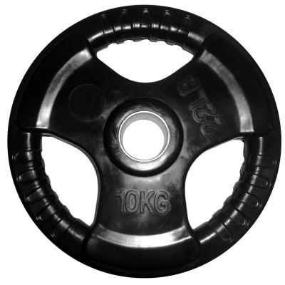 Диск обрезиненный 10 кг (? 50 мм)