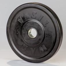 Диск обрезиненный 15 кг (52 мм)