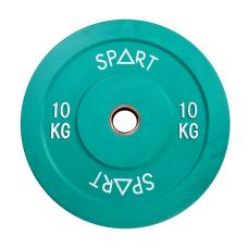 Бамперный диск Spart Bumper Plates Color 10 kg PL42-10
