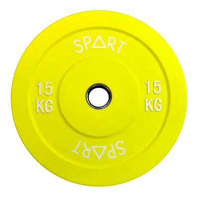 Бамперный диск Spart Bumper Plates Color 15 kg PL42-15