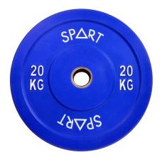 Бамперный диск Spart Bumper Plates Color 20 kg PL42-20