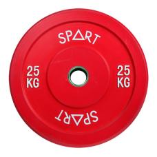 Бамперный диск Spart Bumper Plates Color 25 kg PL42-25