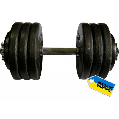 Гантель наборная стальная 1 шт 36 кг