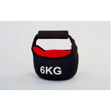 Гиря мягкая неопреновая 6 кг