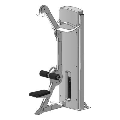 Блок для мышц спины (верхняя тяга) Fit Way Factory Bridge Style А 105