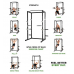 Кроссфит стойка Tunturi WT60 Cross Fit Rack 17TSWT6000