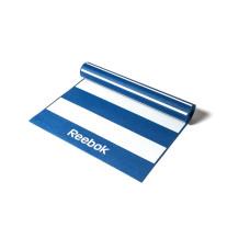 Мат для йоги двухсторонний Reebok Stripes RAYG-11030BL 4 мм