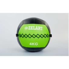 Мяч медицинский (волбол) WALL BALL 4 кг