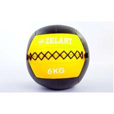 Мяч медицинский (волбол) WALL BALL 6 кг