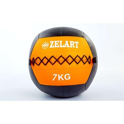 Мяч медицинский (волбол) WALL BALL 7 кг