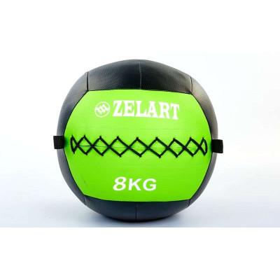 Мяч медицинский (волбол) WALL BALL 8 кг