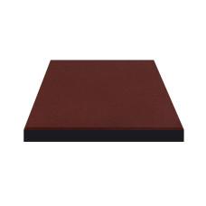 Плитка резиновая 500*500*20мм Красная