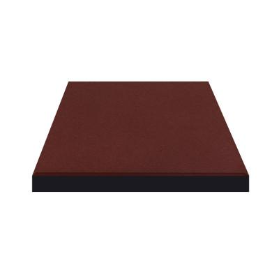 Плитка резиновая 500*500*30мм Терракотовая