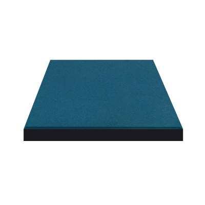 Плитка резиновая 500*500*20мм Синяя