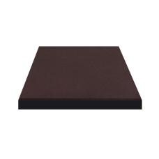Плитка резиновая 500*500*20мм Коричневый