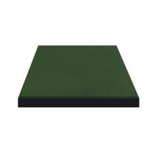 Плитка резиновая 500*500*25мм Зелёная