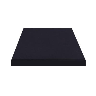 Плитка резиновая 500*500*25мм Чёрная
