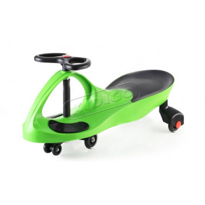 Smart car green с силиконовыми колесами