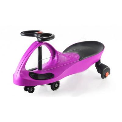 Smart car purple с силиконовыми колесами