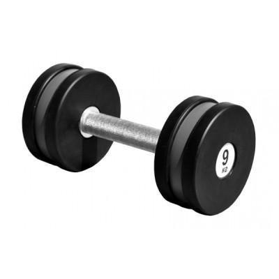 Гантель профессиональная Sportech.D 9 кг ТК 409.9