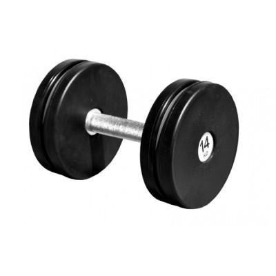 Гантель профессиональная Sportech.D 14 кг ТК 409.14