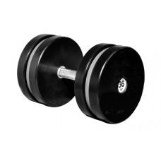Гантель профессиональная Sportech.D 36 кг ТК 409.36