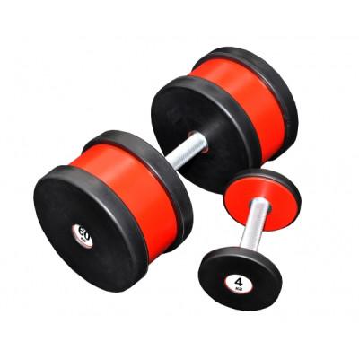 Гантель профессиональная Sportech.D 60 кг ТК 409.60