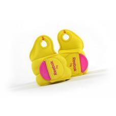 Утяжелители на руки Reebok (Желтые) 2 х 1 кг