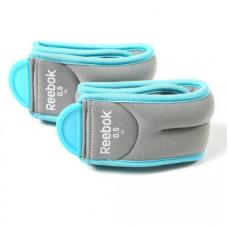 Утяжелители для ног Reebok RAWT-11073BL 0,5 кг