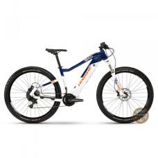 Электровелосипед Haibike SDURO HardNine 5.0 i500Wh NX 19 HB YCS, рама XL, бело-сине-оранжевый, 2019