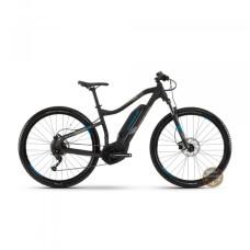 Электровелосипед Haibike SDURO HardNine 1.0 400Wh 9 s. Altus19 HB YCS, рама XL, черно-серо-синий матовый, 2019