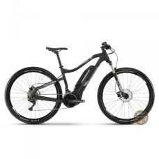 "Электровелосипед Haibike SDURO HardNine 3.0 29"" 500Wh, рама M, черно-серо-белый матовый, 2019"