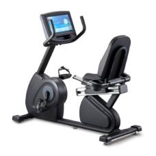 Горизонтальный велотренажер Circle Fitness R8 E Plus Black