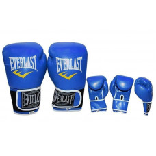 Перчатки боксерские Everlast blue