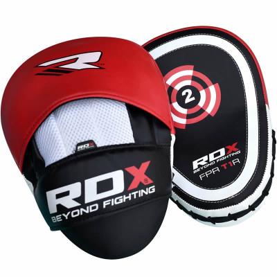 Лапы боксёрские RDX GEL FOCUS RED
