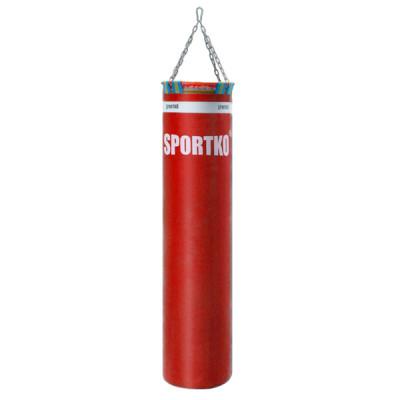 Боксерский мешок Sportko 150 х 35 см с цепями МП 05